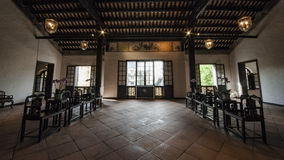 Interior of Chinese house Stock Photography
