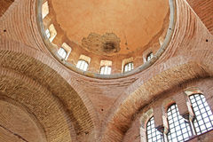 Interior in Chora Kariye church in Istanbul, Turkey Royalty Free Stock Photos