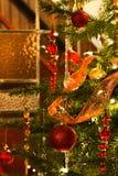 Interior with christmas tree Royalty Free Stock Photo