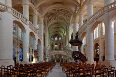 Interior Church Royalty Free Stock Photo