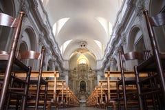 Interior of church Stock Photos