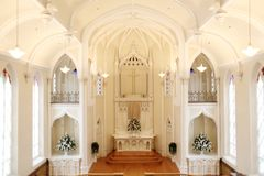 Interior of church Royalty Free Stock Photos