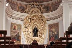 Interior of church Stock Image