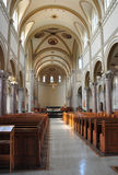Interior of a Church. In monastery in Somerset PennsylvaniarnTaken August 26, 2011 Royalty Free Stock Image