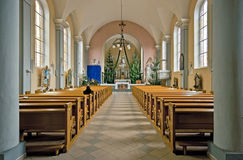 Interior church. Stock Images