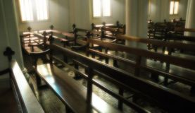Interior of Church Royalty Free Stock Photo