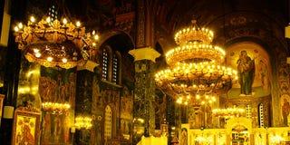Interior of a church Royalty Free Stock Photos