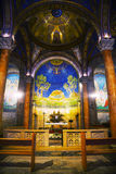 Interior of the Church of All Nations Royalty Free Stock Photography