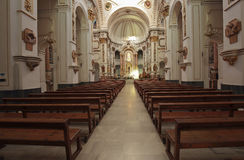Interior of Church of Altea Stock Photos