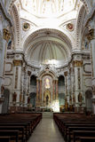 Interior of Church of Altea Royalty Free Stock Photography