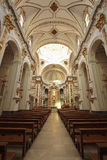 Interior of Church of Altea Royalty Free Stock Images