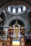 Interior of the Church of the Archangel Michael in the village o Royalty Free Stock Photos