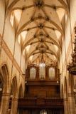 Interior of a church Stock Photo