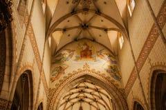 Interior of a church Royalty Free Stock Photo