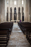 Interior of a church Stock Photo