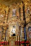 Interior of Church Chapel Religious Symbols Royalty Free Stock Photos
