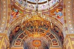 Interior of the church of Chernivtsi University, Western Ukraine Royalty Free Stock Photo