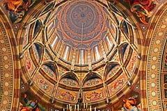 Interior of the church of Chernivtsi University, Western Ukraine Stock Image