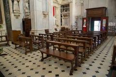 Interior of a church Stock Image