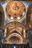 Interior of the Church of the Holy Sepulchre Royalty Free Stock Photography