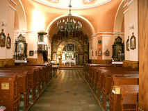 The interior of the church Royalty Free Stock Photography