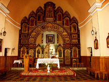 The interior of the church. Inside the historic Orthodox Church Stock Images