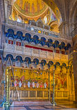 The interior of the church Stock Photos