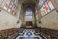 The interior of church of King's College Royalty Free Stock Image