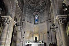 Interior Church. Matera. Basilicata. Royalty Free Stock Photo
