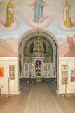 Interior of the church at the museum-estate of Ivan Turgenev Stock Photo