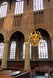 Interior of church Nieuwe Kerk in Delft, Netherlands Stock Photography