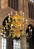 Interior of church Nieuwe Kerk in Delft, Netherlands Royalty Free Stock Photos