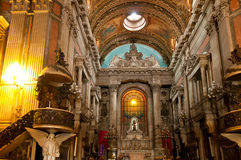 Church Nossa Senhora da Candelaria in Rio de Janeiro Royalty Free Stock Photography