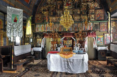 Interior church Royalty Free Stock Photography