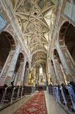 Interior of Church in Opatow Royalty Free Stock Image