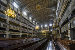 Interior of Church of Peace in Jawor, Poland Stock Photo