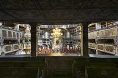 Interior of Church of Peace in Jawor, Poland Stock Photography