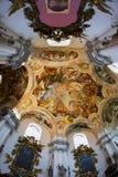 Interior of church in Poland Stock Image
