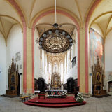 Interior of Church of Presentation of Virgin Mary Royalty Free Stock Image