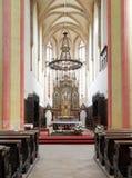 Interior of Church of Presentation of Virgin Mary Stock Photo
