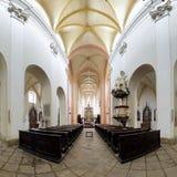 Interior of Church of Presentation of Virgin Mary stock photos