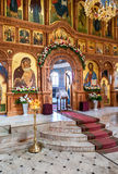 Interior Church of the Resurrection in the Holy Resurrection Mon Royalty Free Stock Image
