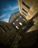 Interior of the Church Ruins of St Raphael National Historic Sit Royalty Free Stock Images