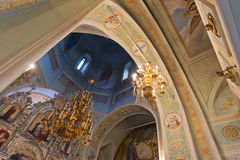 Interior church Stock Photo