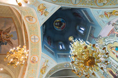 Interior church Stock Photography