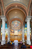 Interior of Church of the Sacred Heart of Jesus Royalty Free Stock Photo