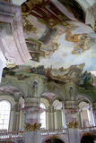 Interior of the church of Saint Nicholas in Prague, Czech Republic Stock Photography