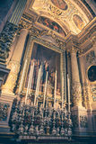 Interior of church Royalty Free Stock Image