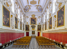 Interior of the Church of San Domenico in Palermo, Sicily, Italy. Stock Images