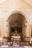 Interior of the Church Santa Maria Delle Grazie in Castelsardo, Stock Photo